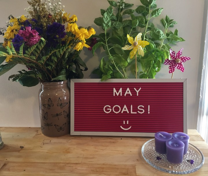 Our Goals for May!