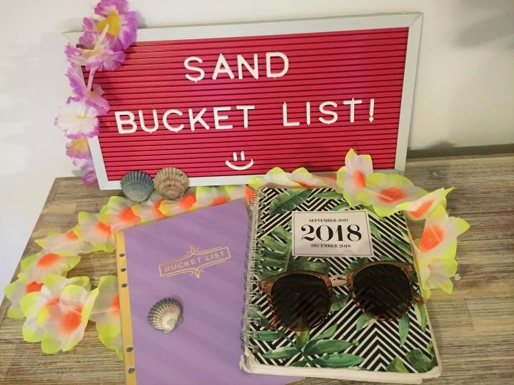 Sand Bucket List