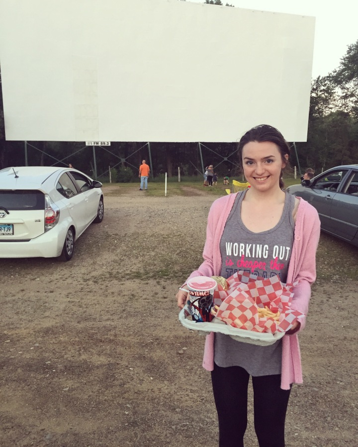 We Threw It Back To A Drive In Movie Theater!